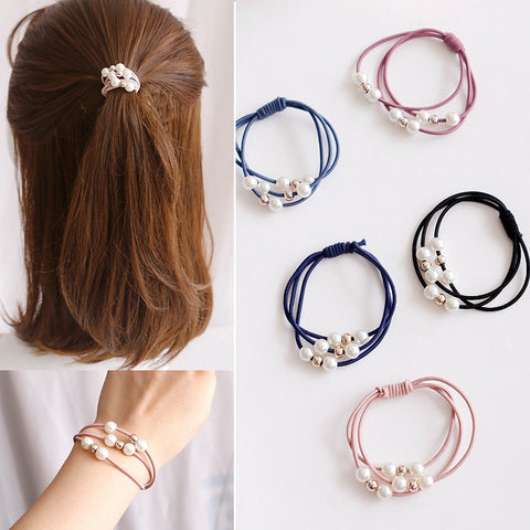 Fashion Kids Baby Female Solid Color Bow Hair Rope Rubber Band Girl Apron Rubber Band Tiara Hair Accessories Hair Ring Apparel Accessories Girl's Hair Accessories