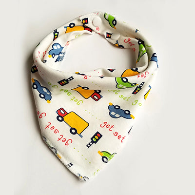 Safety Baby Product Bandana bib Burp Cloth Bibs For Boy/&Girl Print animal Triangle Cotton Scarf Meal Collar Burp baby Accessories
