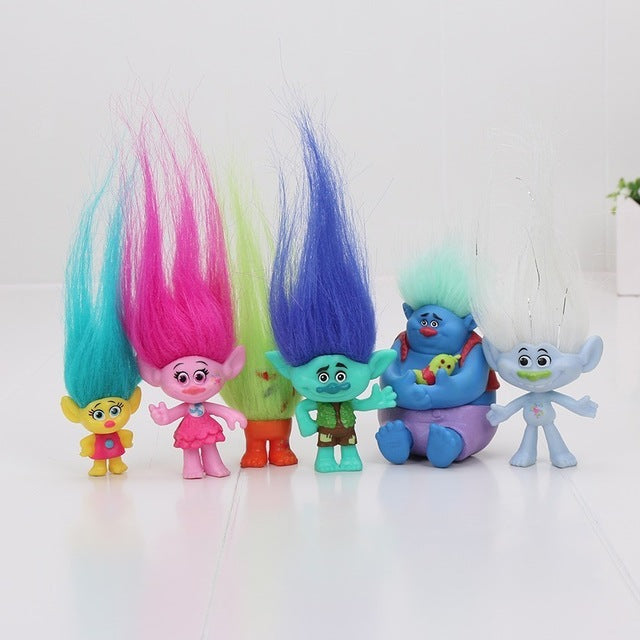 Promotion Trolls Toys Action Toys Branch Critter Skitter Figures Trolls Children Action Figure Toy Birthday Gift