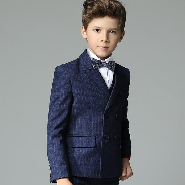 Boys suits for weddings pageant dress for boy suits formal woolen school uniform boys costume blazer enfant garcon mariage