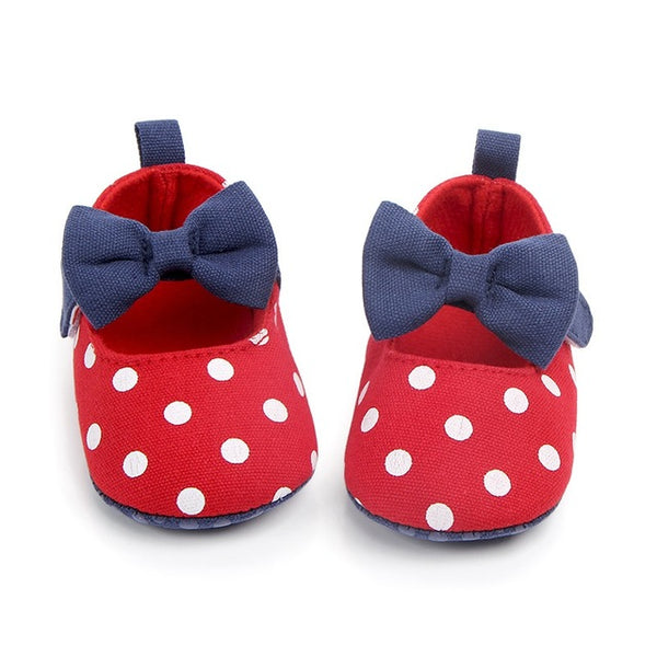 Baby Girl Shoes Infant First Walker Newborn Dot Spring Autumn Toddler Shoes Fashion Baby Shoes