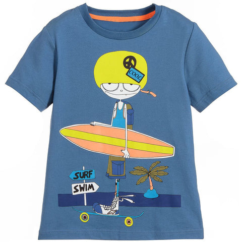 Boys Tops Summer Fashion Baby Boy Clothes Kids T-shirt Character Appliques Children Cotton T shirts for Boys Clothing