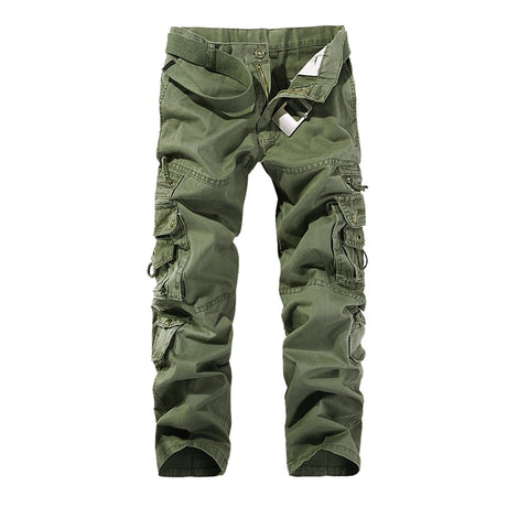 Camouflage Trouser Mens Military Style Cargo Pants Men Camping Hunting Trousers Askeri Kargo Pantolon