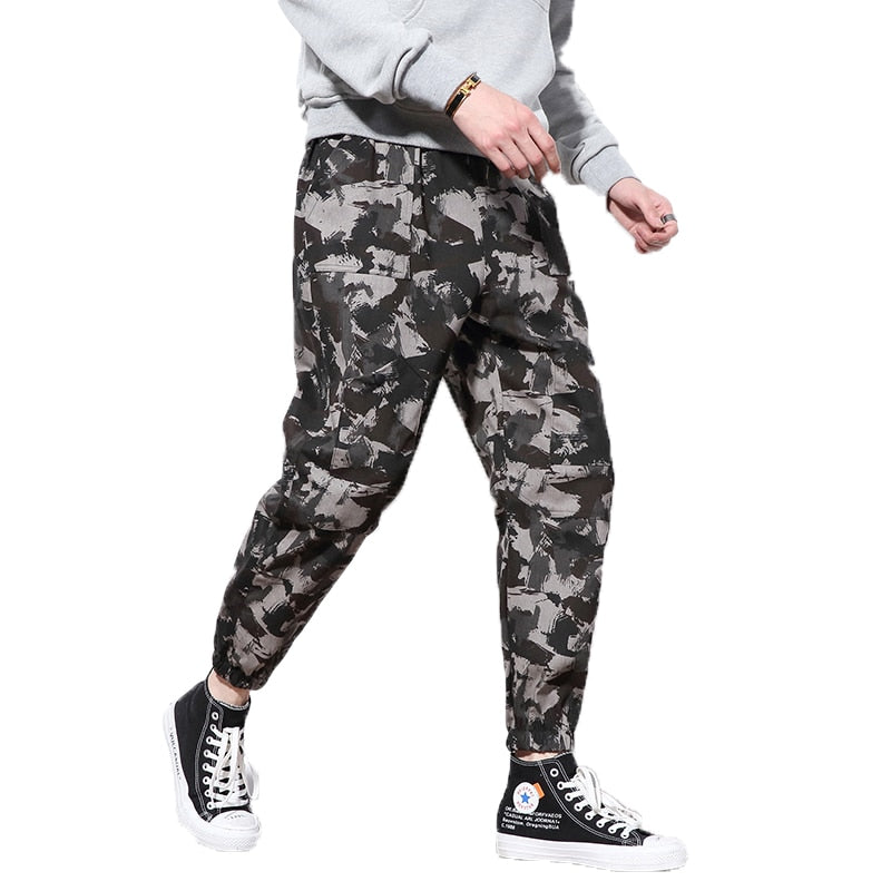 0b8a376bc Mens Winter Camouflage Tactical Cargo Pants Men Joggers Boost Military  Cotton Pants Hip Hop Male fleece warm Trousers 5XL