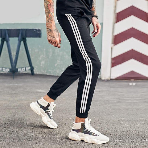 New long straight trousers pants joggers men fashion sweatpants men streetwear cool pants for men pants KZ6351