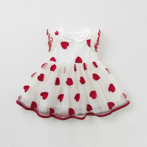 Summer baby girl princess clothes children birthday party wedding dress kids embroidered boutique dresses
