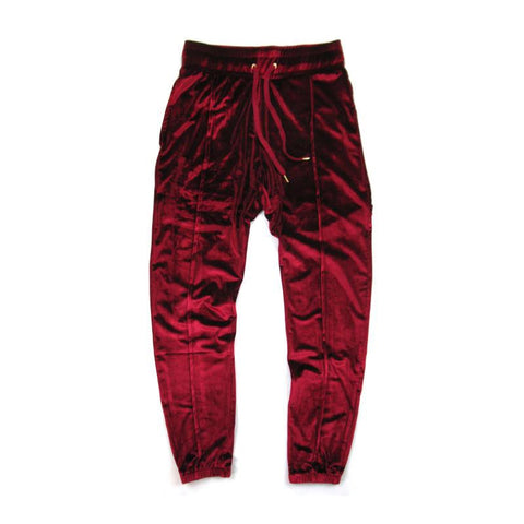 Hip Hop Streetwear Velvet Pants Autumn Solid Color Drawstring Elastic Waist Velour Joggers Thick Warm oversized Sweatpants