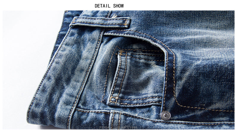 Holyrising new Men Jeans Shorts Casual Hole Pants 30-46 size Denim Short 100% Cotton Short Jeans homme 18735-5