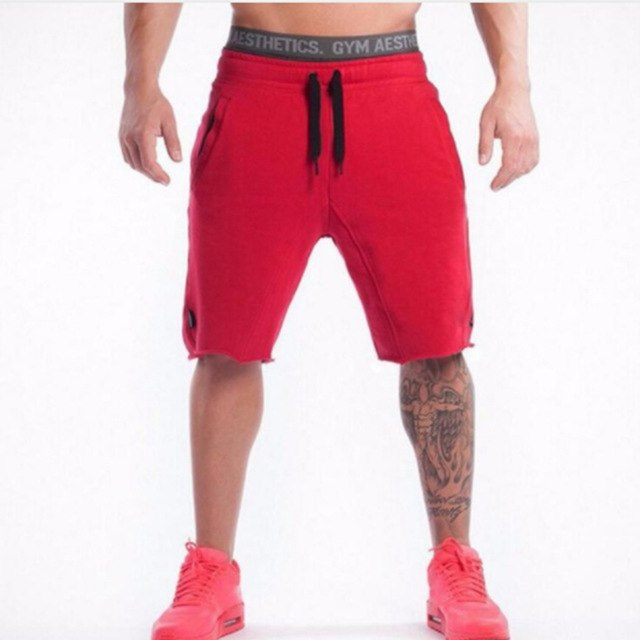 High Quality Men shorts stitching Workout Bodybuilding Fitness Gyms Shorts workout fashion leisure jogger shorts mens