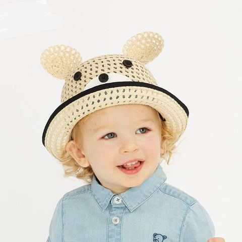 Summer baby straw hat children cap