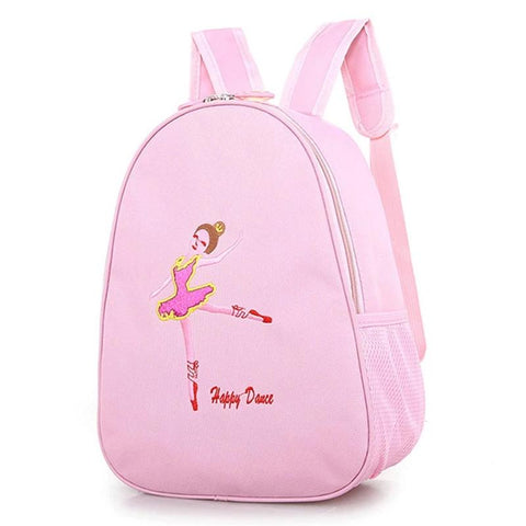 Pink Backpack Kids Dance Toddler Shoe bag Embroidered Backpack Sequined DRESS Ballet Dance Bag for Girls New