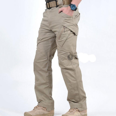 IX9 Militar Tactical Cargo Pants Men Combat SWAT Army Train Military Pants Casual Cotton Paintball Hunt Hike Outdoors Trousers