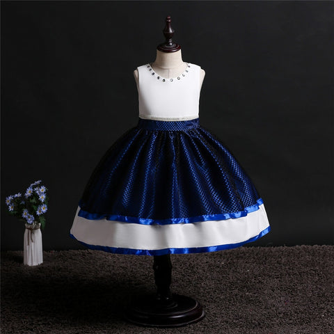 Dresses for Girls Clothes Kids Birthday Party Dress for Children Girls Princess Formal Dresses Flower Kids Wedding Prom Gown