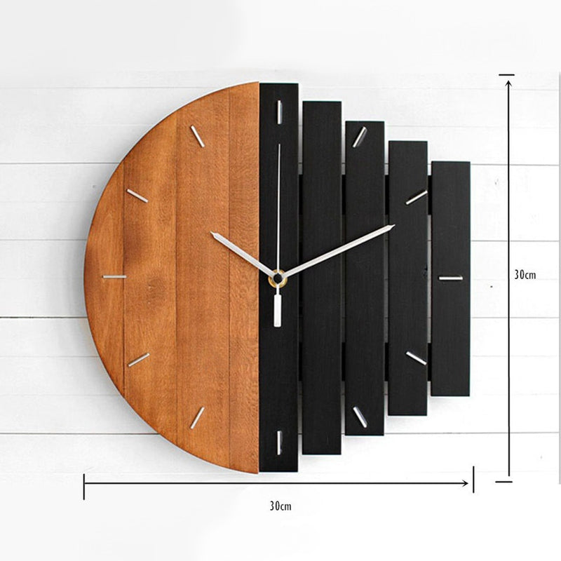 New Wall Clock Quartz Abstract Industry Wall Clock Modern Design Can Lettering 3D Antique Style Nordic Wall Watch For Home Decor