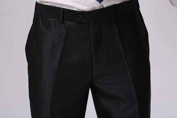 Formal Business Pants Black Skinny Fit Summer New Style Dress Suits Pants Standard Euro-size Silver Grey Black Plus Size F1317