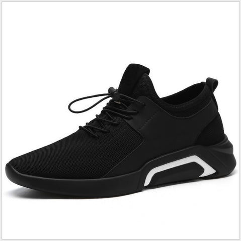 Fashion Sports Men's Shoes New Spring  Lace Up Youth Men Shoes Comfortable Running  Air  Mesh  Breathable  Shoes
