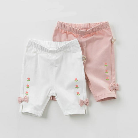 Summer baby girl clothes infant toddler shorts children boutique pants