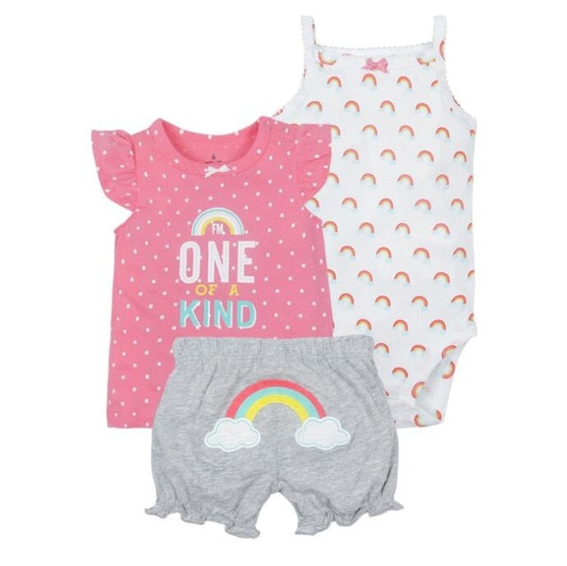 New summer baby girl clothing princess 3 pieces infant girls clothes sets , 6M -24M outfit baby accessories babies costumes