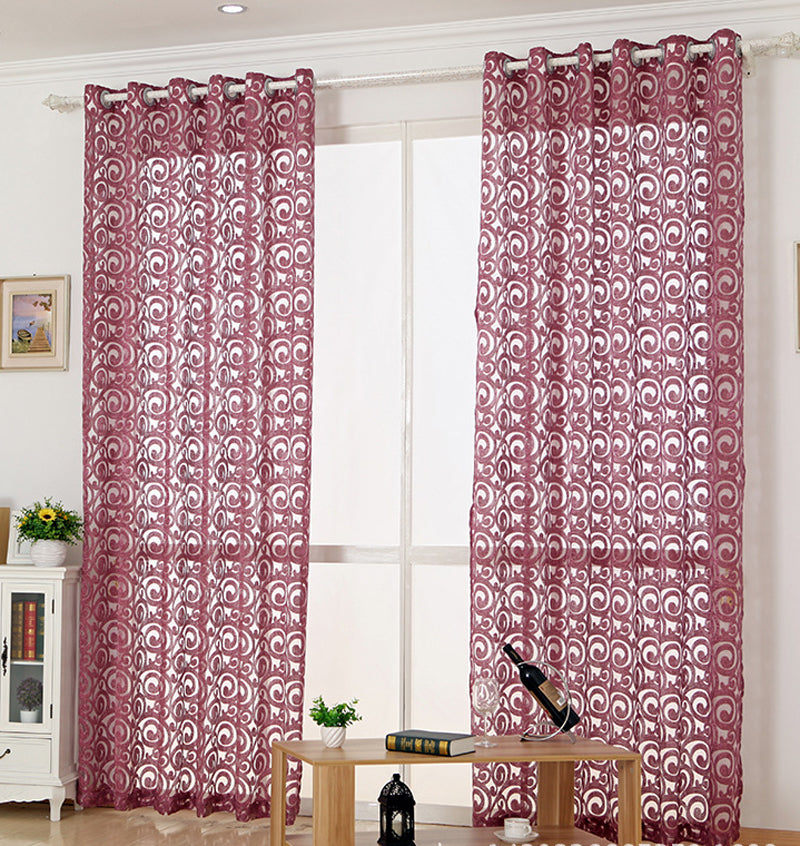 Gray curtains homes grey curtains ready made curtains Fabric for tulle  purple curtains windows living room curtain 051&30