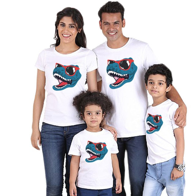 16a7b58b Mother father son tshirt mommy and me dresses family matching clothing |  JOHNKART.COM. }