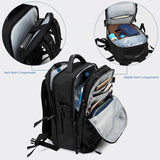 "New Men Backpack for 15""17"" Laptop Backpacks Water Repellent Multifunction Bag USB Charging Travel Backpack Large"