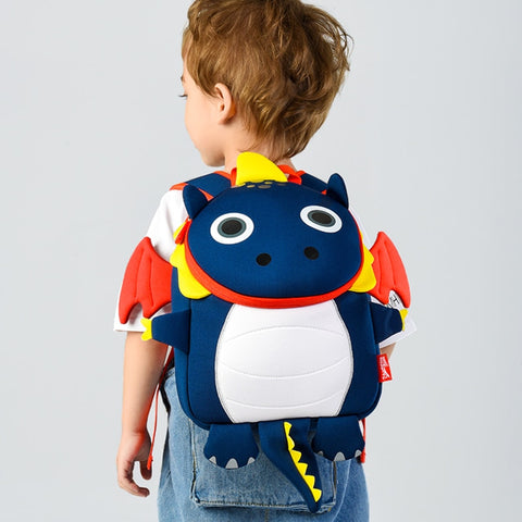 3D Fire Dragon Kids School Bags for Boys Waterproof Designer Schoolbag Children School Backpack for Girls Best Gift to Toddler