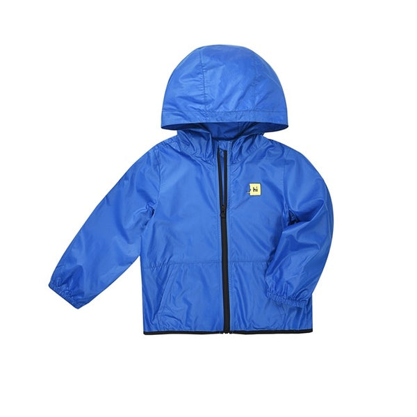 Toddler Boy Quick-Dry Outdoor Hooded Jacket Children Kids Boy Breathable Full-Zip Jacket with Hood for Summer
