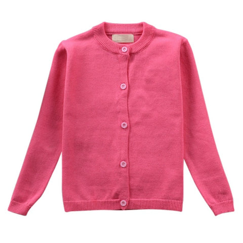 New Cute Kids Boys Girls Jacket Hot Sale Autumn Baby Boy Girl Clothes Coat Solid Long Sleeve O-Neck Boys Girls Jacket