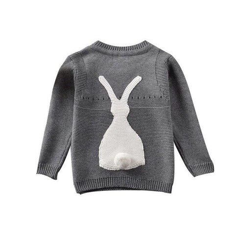 Spring Autumn Baby Boys Girls Sweater Toddler Girls Jumper Knitwear Rabbit Long-Sleeve Pullover Sweaters Children's Clothing