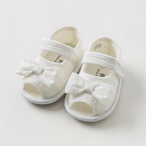 b6e23b03e18 Summer baby girl sandals new born pre walkers infant shoes girl white  sandals Princess shoes with