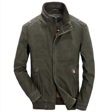 Army Style Men's Jackets Outerwear Coats European And American Military Style Mens Jacket and Coats Brand Clothing For Men