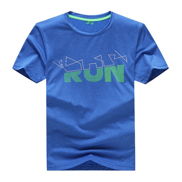 Summer Boys Quick drying T-Shirt Kids Sport Tops Teen Children Clothing Baby Boys Run T-Shirt Short Sleeve Clothes