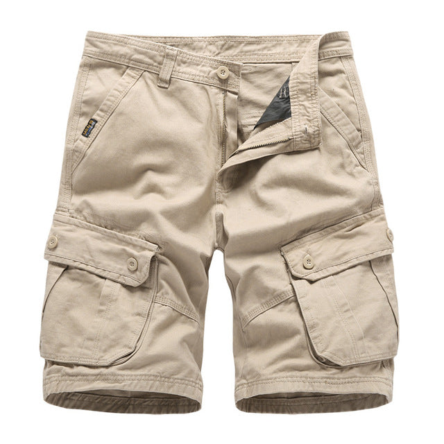 Navy Mens Cargo Shorts Brand New Army Military Tactical Shorts Men Cotton Loose Work Casual Short Pants