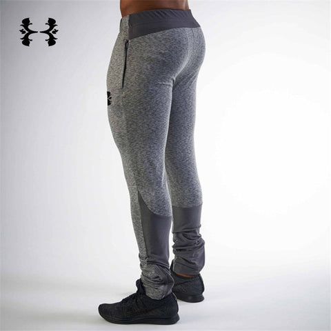 New Tight  Packet Bodybuilding Gyms Pants Brand Clothing Polyester Trousers Fitness Jogger Sweatpants Men High Quality