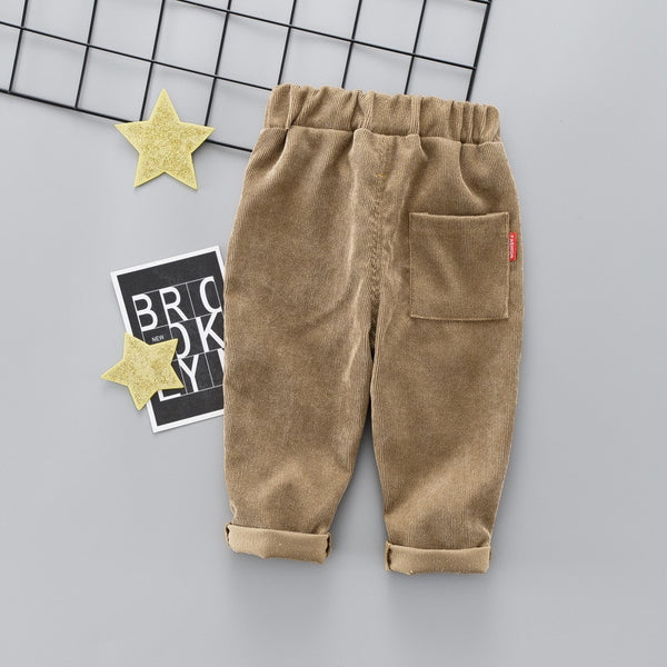 New Spring Baby Pants Corduroy  Pants  Baby Boy/Girls Pants