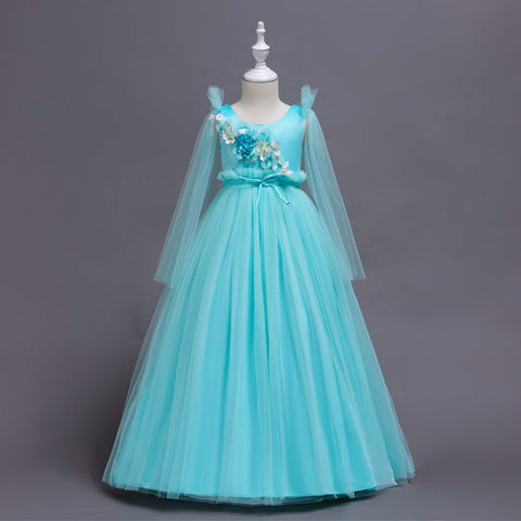 Flower Girls Dresses for Teenagers Girl Ceremony Party Prom Wedding Dress for Girls Clothes for 6 8 9 10 16 years