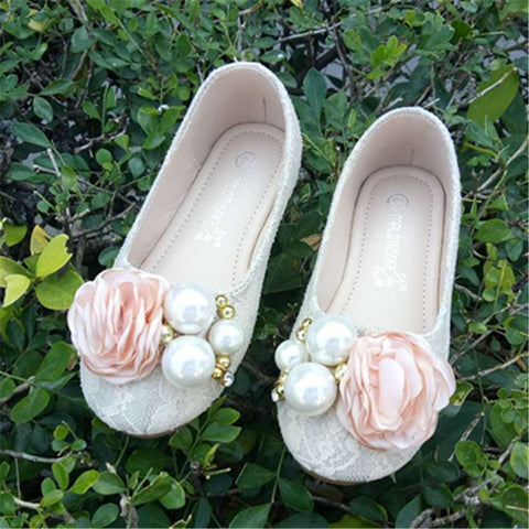 new spring children's shoes girls flower girl casual sports shoes baby infant shoes hot girls princess shoes