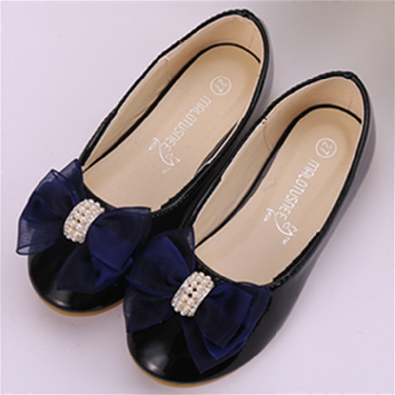 Girl flat heels spring and autumn style lace girl shoes in