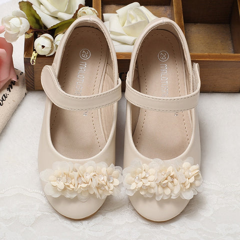Spring and Autumn Girls Flat Shoes Leather Princess Shoes Children Sweet  child Patent Leather Shoes Sale Student Shoe