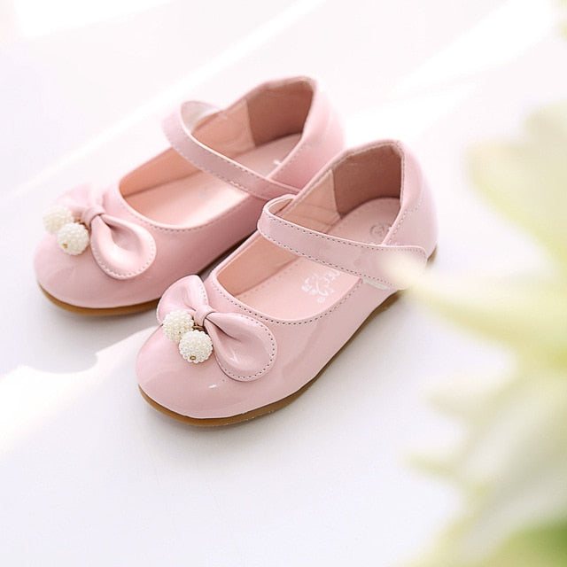 Hot Children Shoes For Girls,Bowtie Princess Girl Sandals Kids Leather Shoes Toddler Girl Sandals Girls Shoes