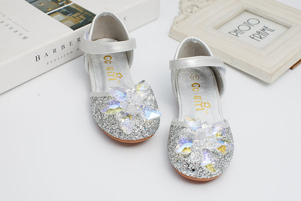 Children Shoes Sandals for Girls Flower Shoes High Heel Girls Princess Sandals baby Kids Party Shoes