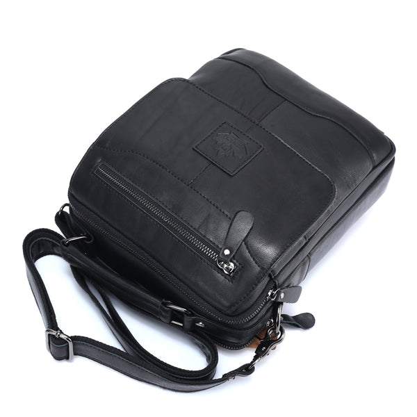 Spring New Arrival Genuine Leather Genuine Leather Men's Bag Shoulder Bags For Men Cross body Bag Portfolio Fashion