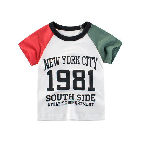 5f8f0bcec0 Kids T-shirts Summer Letter Printed Children T-Shirts For Boys Baby Girls  Casual