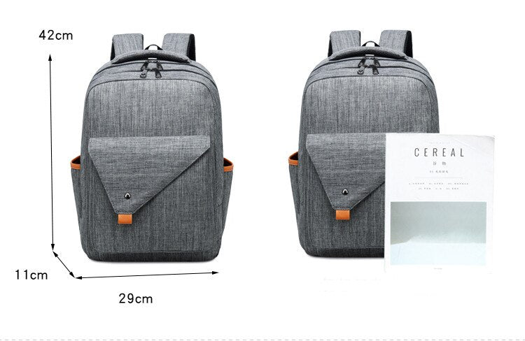 Fashion cheap backpacks double color travel backpack men shoulder backpack double zipper backpacks female laptop business bag