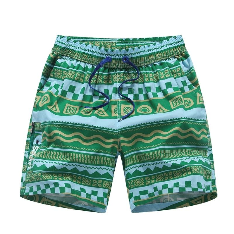 New Summer Men Shorts Print Beach Shorts Male Casual Short Homme Bermudas para hombre Men Clothing