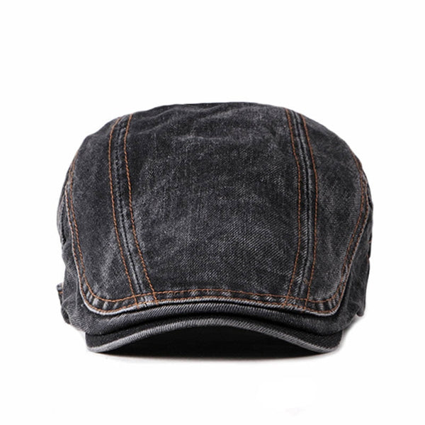 New High Quality Washed Do The Old Men Newsboy Hat Retro Cabbie Ivy Flat Cap Spring Summer Patchwork Newsboy Caps