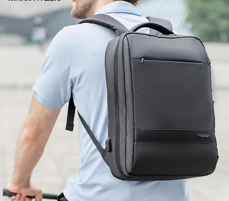 Mark Ryden Anti-thief USB Backpack Male 15.6 inch laptop Bags for Men Multi-layer School Bag Male Travel