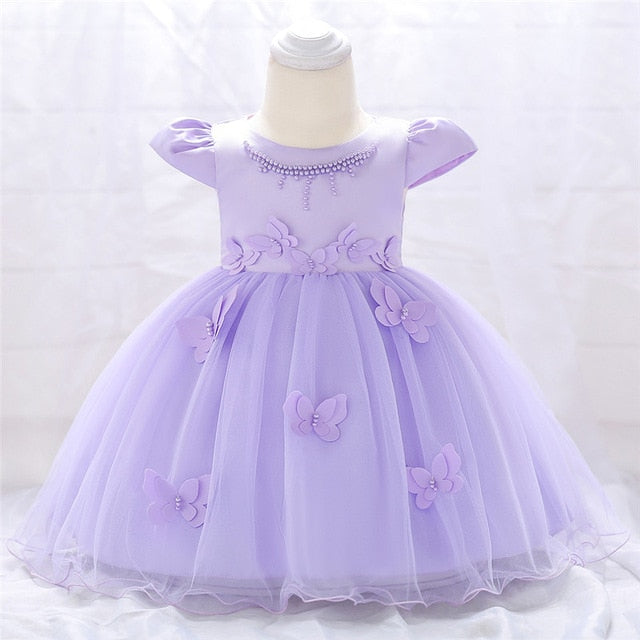 Sequined Princess Dress New Lace Kids Dresses for Girls Show Host Wedding Tutu Birthday Baby Dresses 2-12 Years WG3892