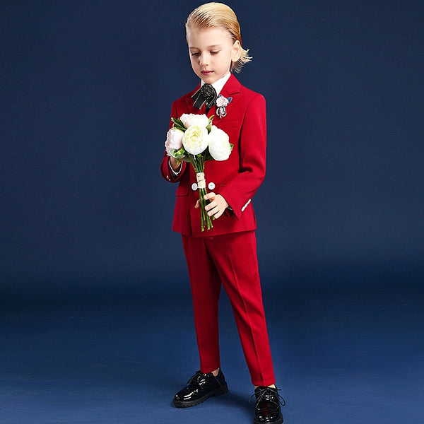 Suit for Boy Terno Infantil Boys Suits for Weddings Costume Enfant Garcon Mariage Disfraz Infantil Boy Suits Formal Menino
