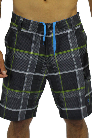 SQUARED UP BOAT SHORT - BLACK